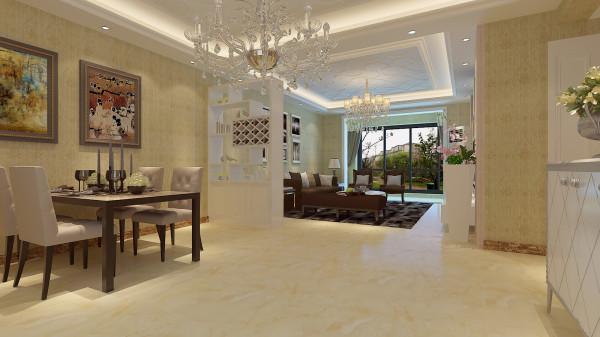 如意花园140平混搭风格-君子兰装饰 玄关