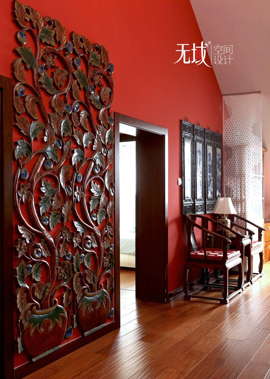 别墅 客厅图片来自无域空间设计刘艺在名佳花园中式风格设计案例的分享