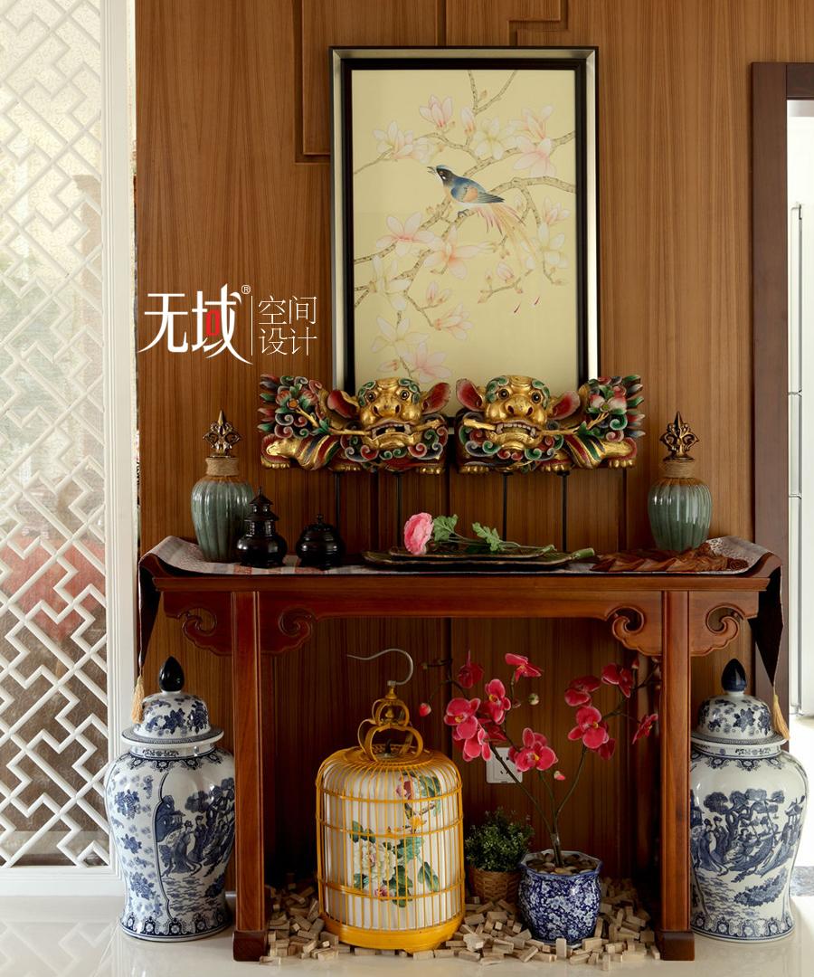 客厅图片来自无域空间设计刘艺在名佳花园中式风格设计案例的分享