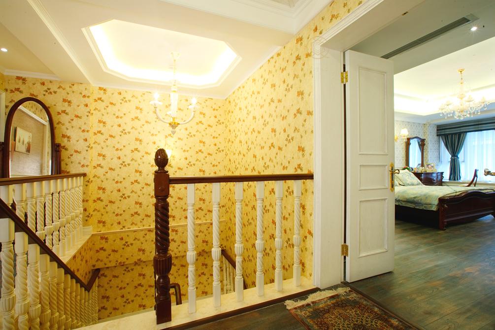 别墅 楼梯图片来自陈秋汐在宁静的彩色家园的分享