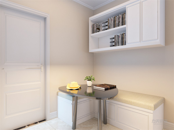 本案为鑫泰家园,一厅两室一厨一卫的85平米户型。本案风格定义为现代简约,现代简约是以简约为主体的装修风格,将设计的元素、色彩、照明、原材料简化到最少的程度,让所有的细节看上去都是非常简洁的。