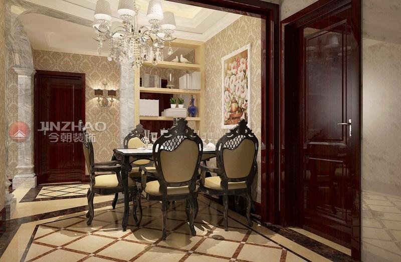 餐厅图片来自山西今朝装饰小闫在自由度-147平米欧式风格的分享
