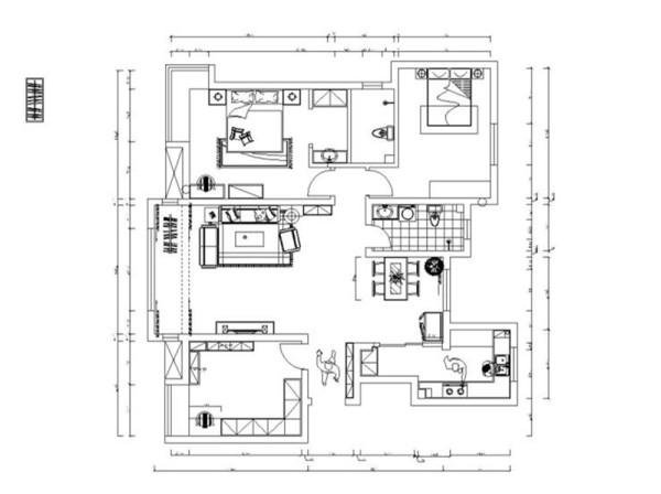 一进入户门左手边是一个书房,右手边就是厨房,从入户门进去就是客餐厅,客厅有阳台,直走右侧是一个卫生间,再直走两层是主卧和次卧,主卧空间较大,还设有书桌,方便学习。主卧还带有一个卫生间。