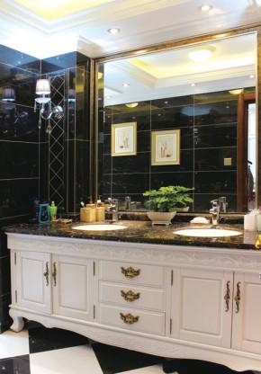 简约 欧式 新古典 4居室 白领 80后 小资 卫生间图片来自成都V2装饰在四居新古典风格的分享
