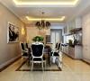 整个空间用美式手法诠释家具,使空间散发着典雅、舒适的奢华气韵,画龙点睛地创造出一种和谐雅致的美感,以其大方、奢华等特点受到业主青睐。造型的个性彰显,色彩的华丽,空间的无限畅享。