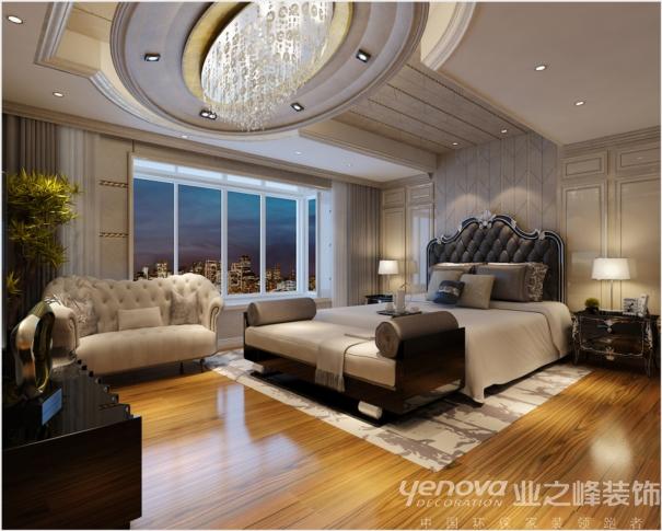 别墅 太原业之峰 卧室图片来自太原业之峰诺华装饰杨丽茹在尊贵的分享