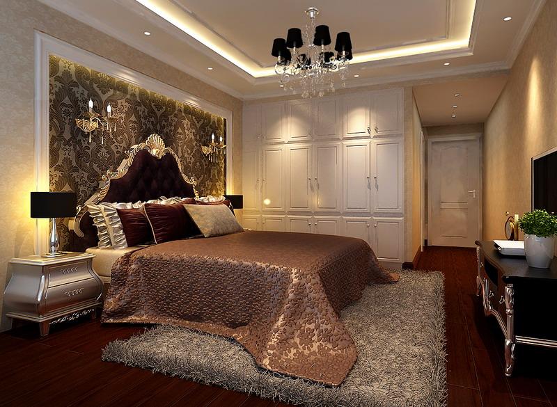 万科金域中 新古典风格 88理想装 新房装饰 三居 卧室图片来自传承正能量在佛山市万科金域中央—新古典风格的分享