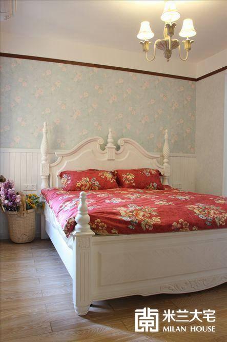 地中海 蓝色 米兰大宅 二居 温馨 烂漫 卧室图片来自米兰大宅设计会所在浪漫地中海的分享