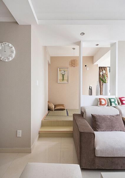 客厅图片来自今朝装饰张智慧在浪漫三口之家-北欧风格的分享