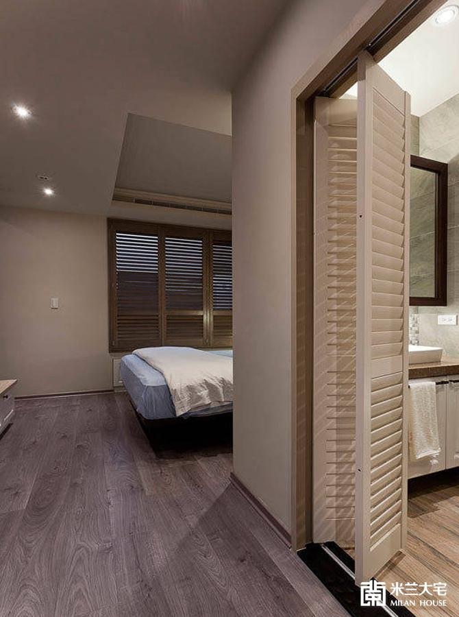 米兰大宅 欧美风情 二居 舒适 混搭 卧室图片来自米兰大宅设计会所在自然之美的分享
