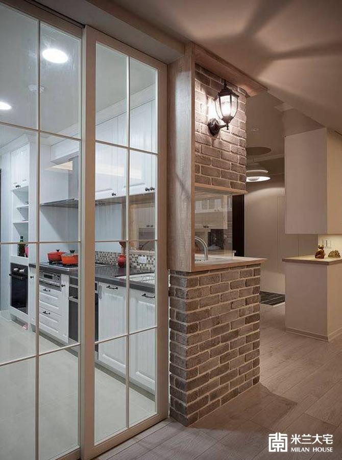 米兰大宅 欧美风情 二居 舒适 混搭 厨房图片来自米兰大宅设计会所在自然之美的分享