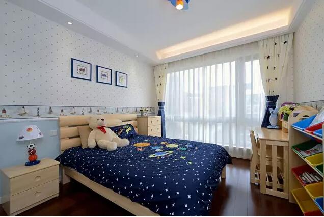 美式 简约 卧室图片来自成都丰立装饰工程公司在130平米美式简约风的分享