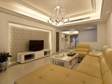 144平 欧式婚房设计
