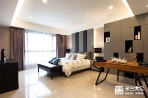 米兰大宅 现代 简约 大方 舒适 卧室图片来自米兰大宅设计会所在别致现代的分享