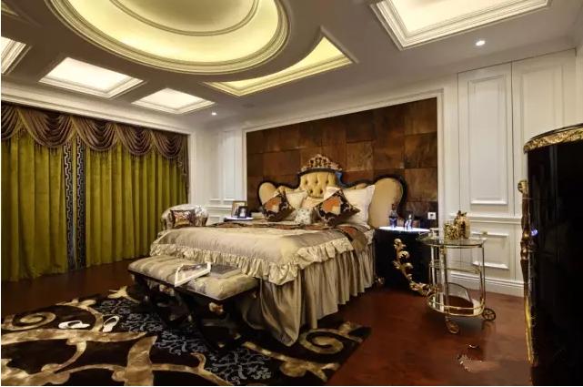 别墅 富力津门湖 新古典 卧室图片来自天津尚层装修韩政在生活。艺术。家的分享
