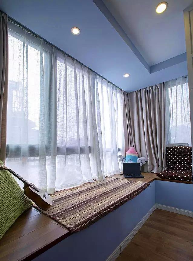 一居 混搭 设计 装修 风格 户型 卧室图片来自高度国际装饰宋增会在美式和地中海,柔和的安静的文艺的分享