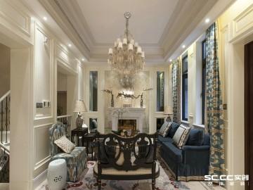 兰州实创装饰260㎡美式别墅