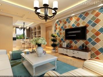 颐和广场128平三居室精装修