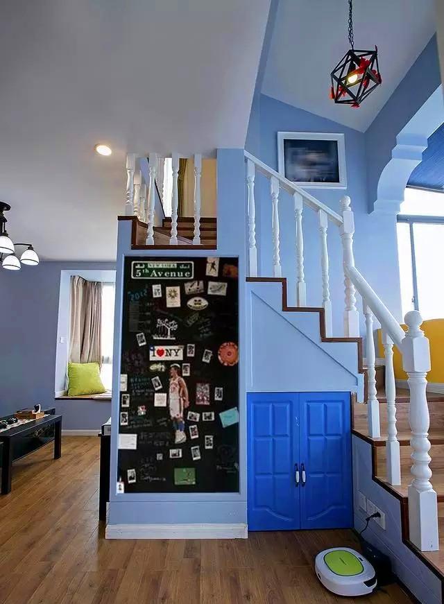 一居 混搭 设计 装修 风格 户型 楼梯图片来自高度国际装饰宋增会在美式和地中海,柔和的安静的文艺的分享