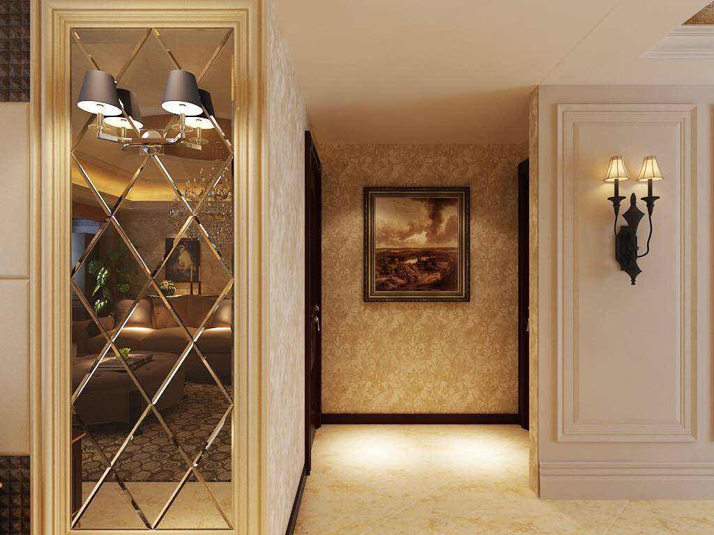 简欧风格 三居室装修 毛坯房设计 欧式装修 玄关图片来自小户型装修案例在欧式风格案例的分享