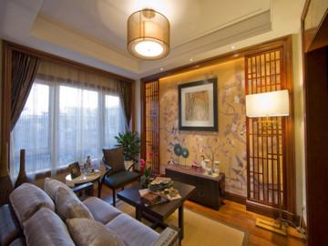 145平米古色古香传统中式复式楼