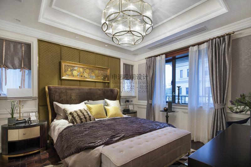 别墅 新古典风格 卧室图片来自申远-小申在豪门府邸的分享