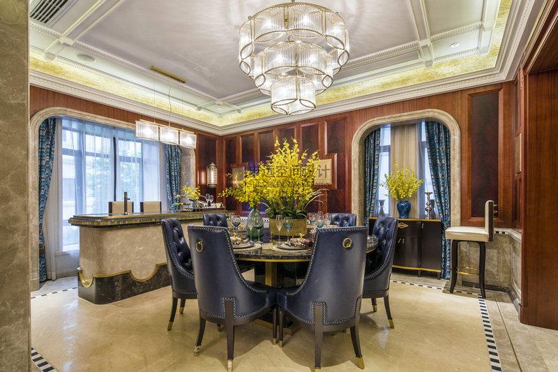别墅 新古典风格 餐厅图片来自申远-小申在豪门府邸的分享