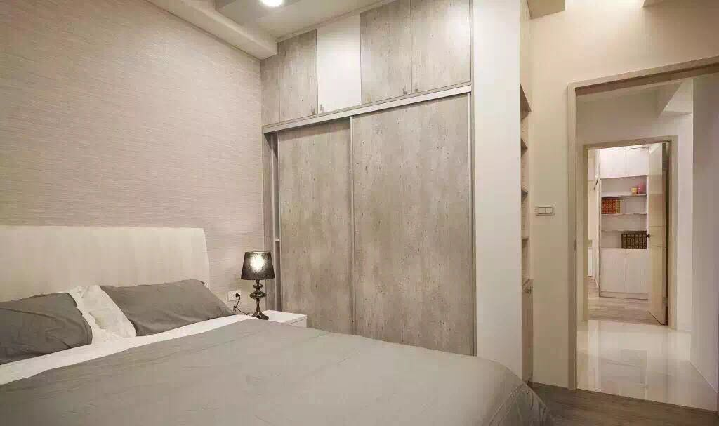 混搭 小清新 二居 卧室图片来自成都丰立装饰工程公司在80平清新小家,怡然自乐的分享