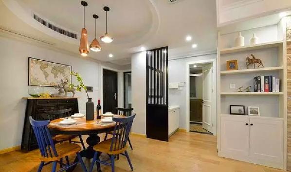 文化砖+白色柜子,过渡装修又是好收纳;