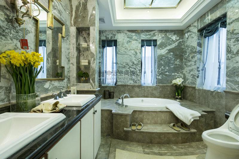 别墅 新古典风格 卫生间图片来自申远-小申在豪门府邸的分享