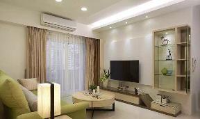 混搭 小清新 二居 客厅图片来自成都丰立装饰工程公司在80平清新小家,怡然自乐的分享