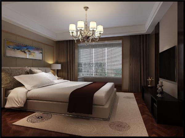 卧室的墙面打通,扩大了卧室的空间,让居住地变得舒适