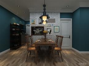 北欧 欧式 二居 婚房 温馨 小资 照片墙 灯具 餐厅图片来自阳光力天装饰在力天装饰-华侨城101㎡的分享