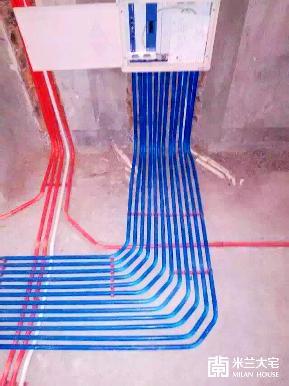 三居 白领 收纳 小资 地中海 玄关图片来自米兰大宅设计会所在【水电完工】的分享