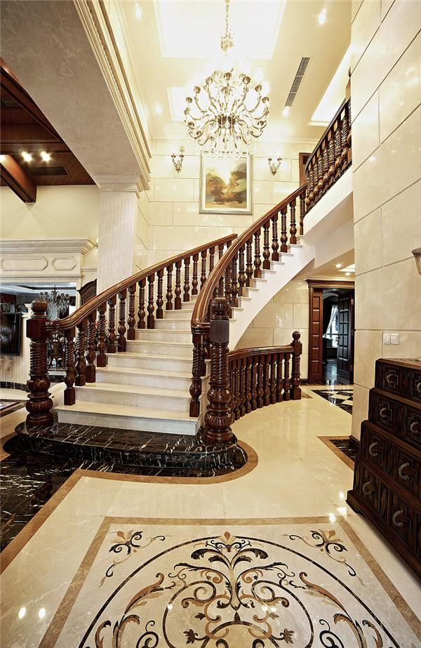 别墅装修欧式古典风格设计方案展示,上海腾龙别墅设计师任云龙作品,欢迎品鉴!