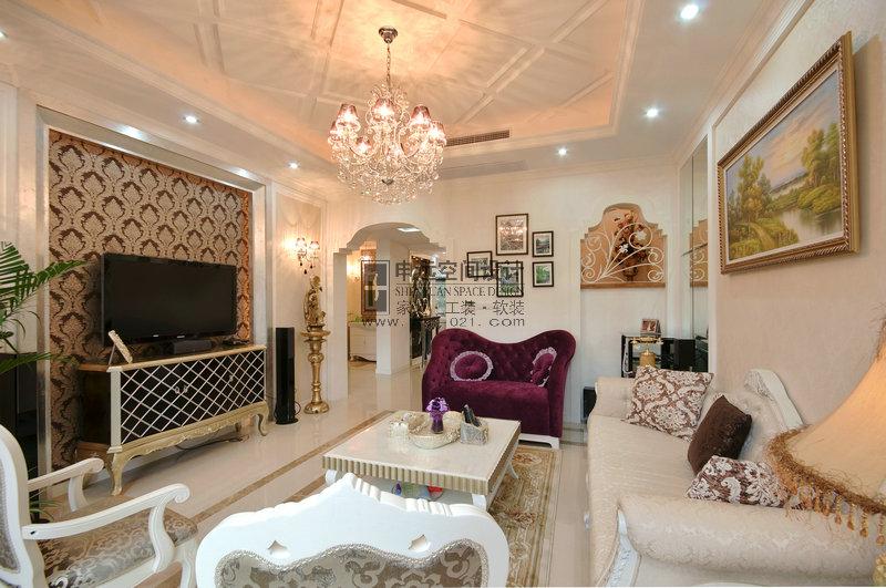 新古典风格 别墅 客厅图片来自申远-小申在南郊别墅(新古典)的分享