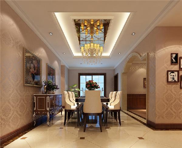 给厨房设置推拉门,增加了客餐厅的通透性,补充了采光。