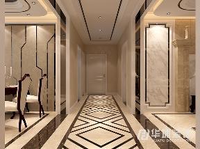 欧式 新古典 四居 白领 玄关 玄关图片来自上海华埔装饰-laird在天地湾150平欧式新古典装修案例的分享