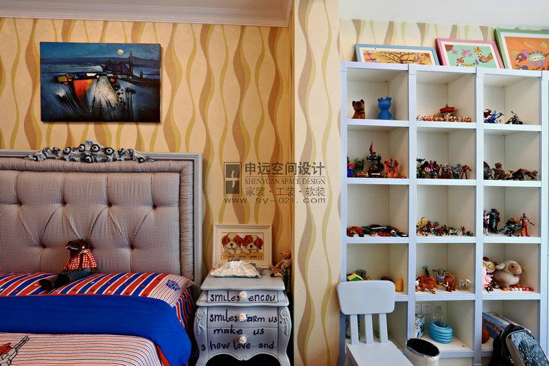 新古典 平层 儿童房图片来自申远-小申在绿地梧桐苑的分享