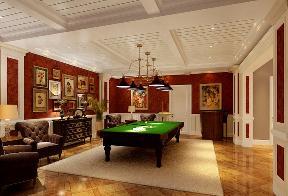 别墅 欧式 混搭 现代 户型图 书房 台球室 客厅 新古典 其他图片来自武汉生活家在中国院子223平-经典现代的分享