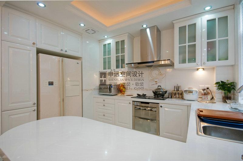 新古典风格 别墅 厨房图片来自申远-小申在南郊别墅(新古典)的分享