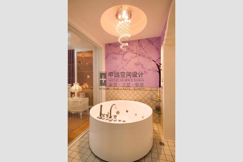 新古典风格 别墅 卫生间图片来自申远-小申在南郊别墅(新古典)的分享
