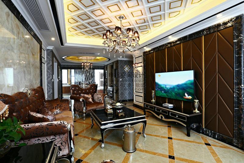 新古典 平层 客厅图片来自申远-小申在绿地梧桐苑的分享