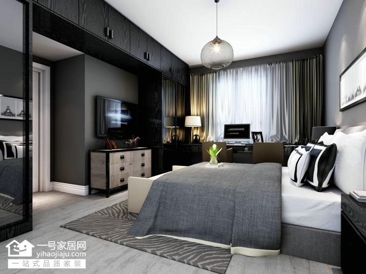 二居 小资 卧室图片来自武汉一号家居在东兴天地91平现代风格的分享
