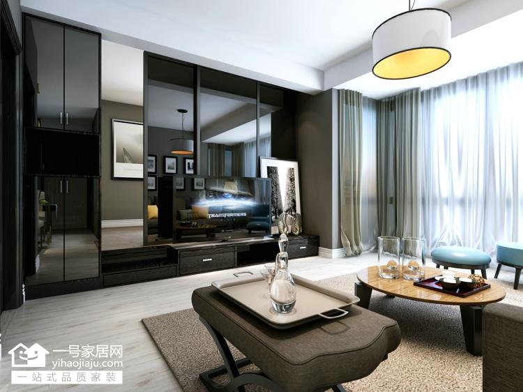 二居 小资 客厅图片来自武汉一号家居在东兴天地91平现代风格的分享