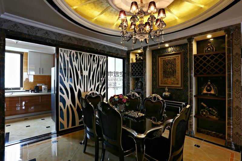 新古典 平层 餐厅图片来自申远-小申在绿地梧桐苑的分享