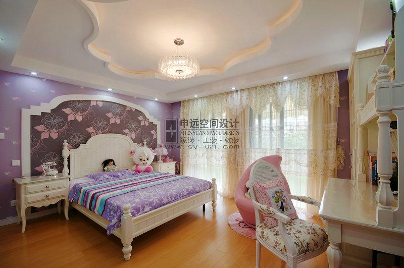 新古典风格 别墅 卧室图片来自申远-小申在南郊别墅(新古典)的分享
