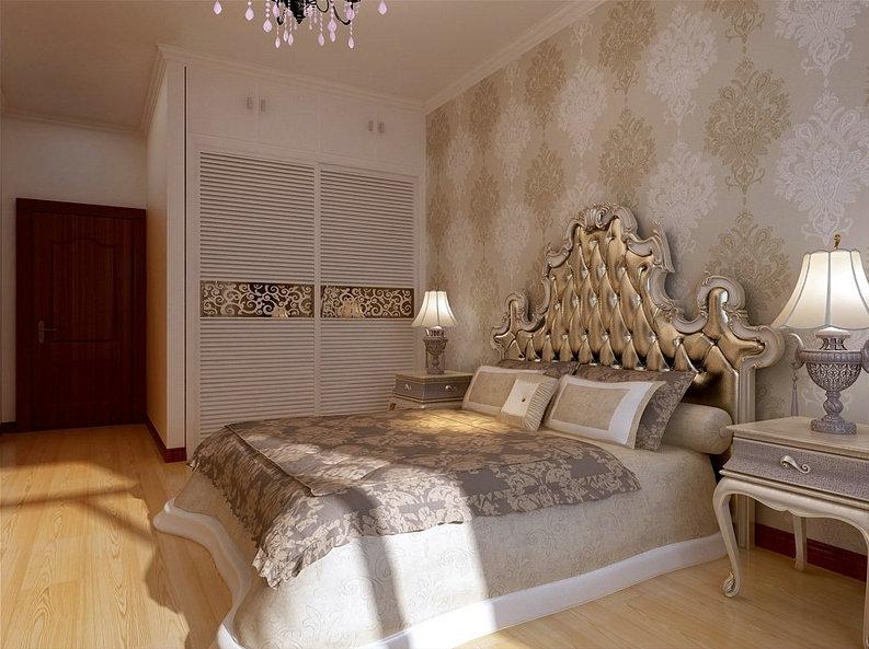 欧式 三居 高档 大气 卧室图片来自rongzhimei在欧式高档的分享