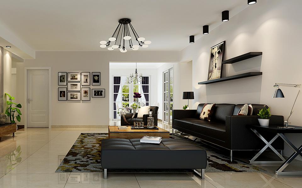 装修 后现代 三居室 三房两厅 客厅图片来自壹品装饰在格兰郡的分享