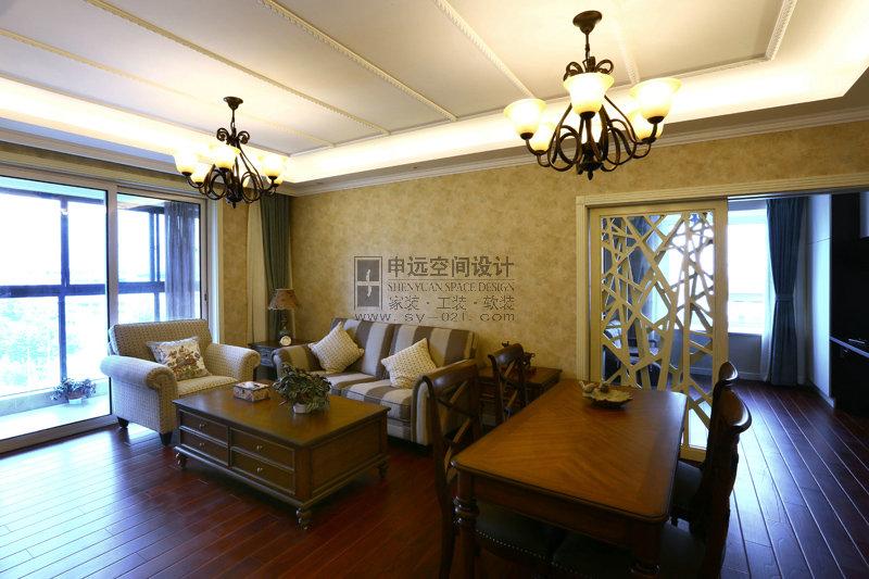 现代风格 平层 客厅图片来自申远-小申在信通浦皓园的分享